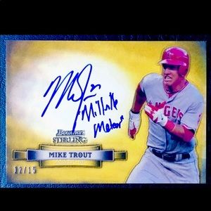 Mike Trout Autographed Card RP
